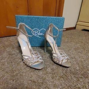 Blue by betsey johndon High heels